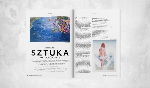 Read about YAM in Warsaw Concierge Magazine!