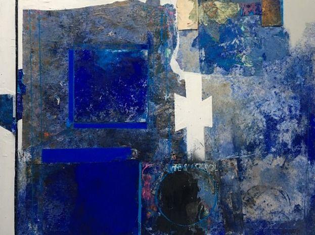REMINISCENCE. VENICE  Mixed media on canvas  120 x 159 cm