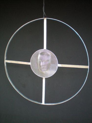 CIRCLES  Metal net  diameter 90 cm