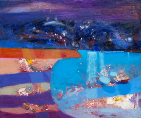 A NIGHT OVER THE ARCHIPELAGO I  Oil on canvas 100 x 120 cm 2015