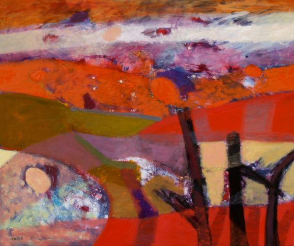 EVENING  Oil on canvas 100 x 120 cm 2015