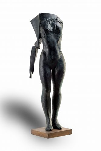 I AM COMING III   bronze  height 111 cm  2014