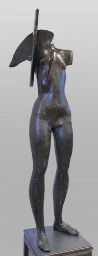 WARRIOR IV   bronze  126 cm  2014