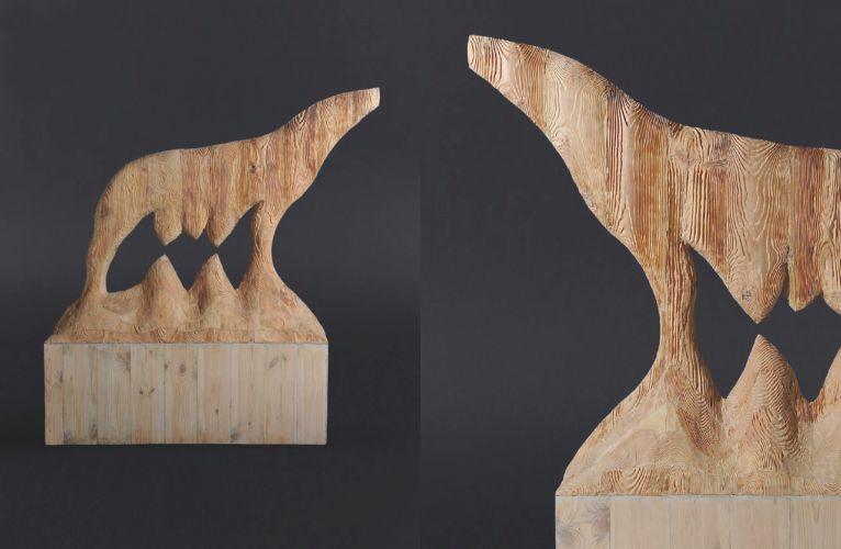 Wood  110 x 130 x 35 cm  2012