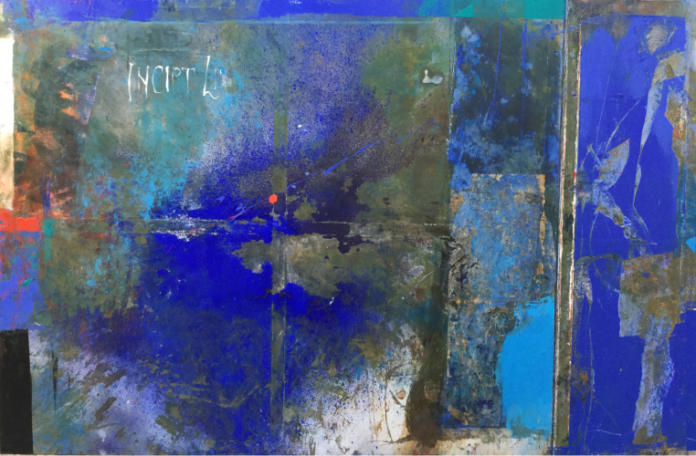 INSCRIPTION  Mixed media on canvas   150 x 100 cm  2016
