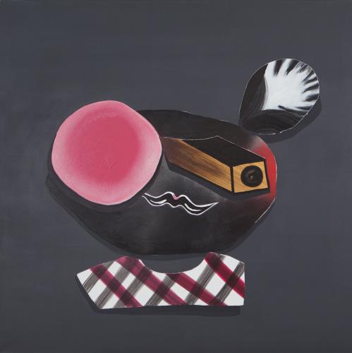 LOOK  Acrylic on canvas  80 x 80 cm  2015