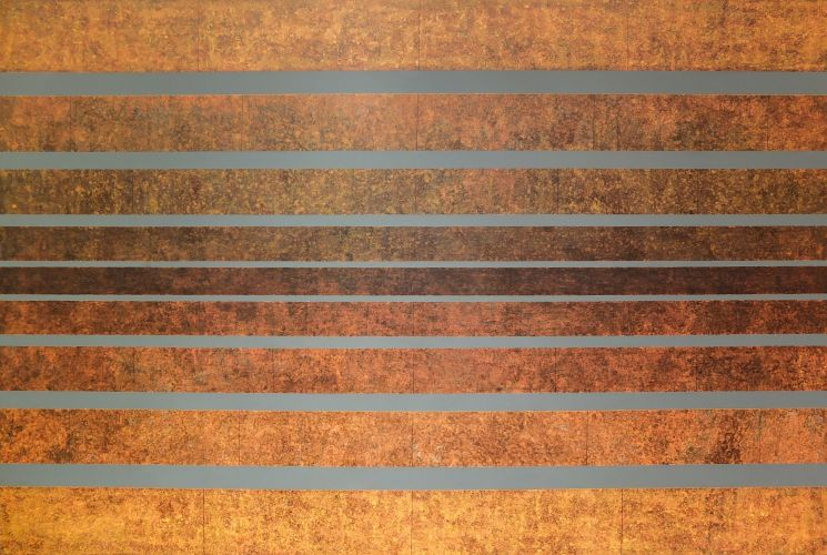 SPONTANEOUS SYMMETRY BREAKING  Acrylic on canvas  100 x 150 cm  2016​