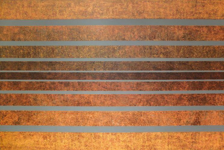SPONTANEOUS SYMMETRY BREAKING  Acrylic on canvas  100 x 150 cm  2016