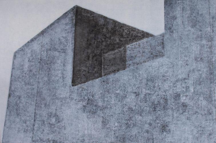 JUSTICE CENTER 3  Acrylic on canvas  80 x 120 cm  2010