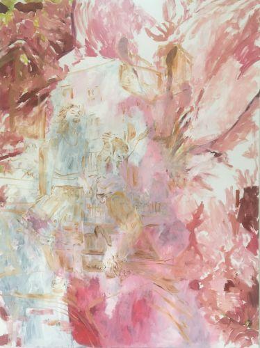 LILIES - THIRD DREAM  Oil on canvas  150 x 200 cm  2018