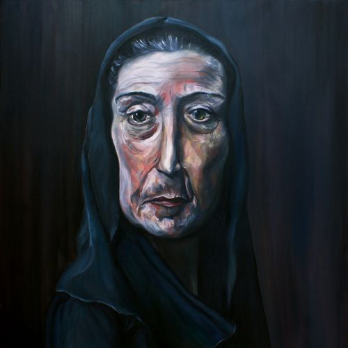 MATURITY  Oil on canvas  100 x 100 cm  2017