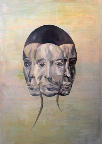 HYBRID  Oil on canvas  100 x 140 cm  2017