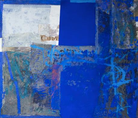 LWÓW, WROCŁAW CHICAGO  Mixed media on canvas   141 x 121 cm   2014