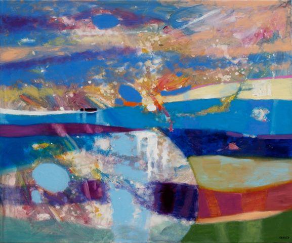 JOURNEY  Oil on canvas  100 x 120 cm