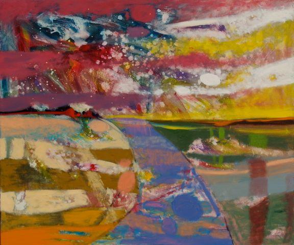 AUTUMN MORNING  Oil on canvas  100 x 120 cm